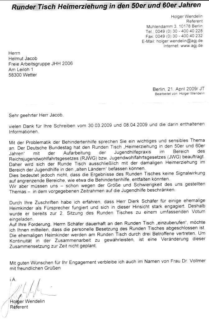 Freie Arbeitsgruppe Jhh 2006 Ermahnt Landschaftsverbände Wann